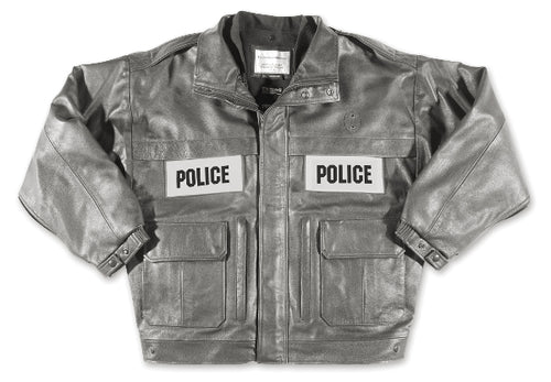 Pursuit II Goatskin Leather Police Jacket