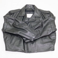 Load image into Gallery viewer, DETROIT POLICE MOTORCYCLE JACKET FRONT