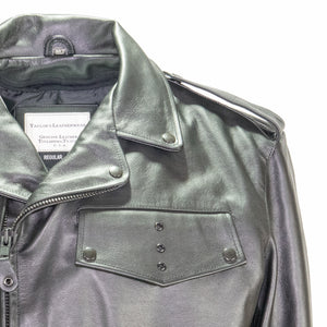 DETROIT POLICE LEATHER MOTORCYCLE JACKET