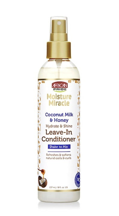 MOISTURE MIRACLE COCONUT MILK AND HONEY LEAVE-IN CONDITIONER