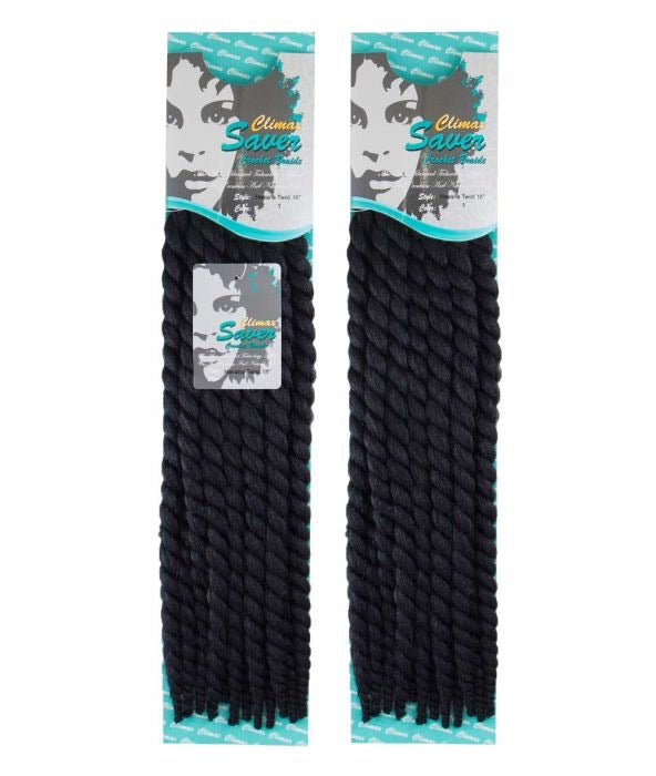 CLIMAX SAVER HAVANA TWIST BRAIDS - 18 INCHES