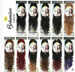 INNOCENCE SYNTHETIC CROCHET BRAID EZ BOHEMIAN LOCS 14""