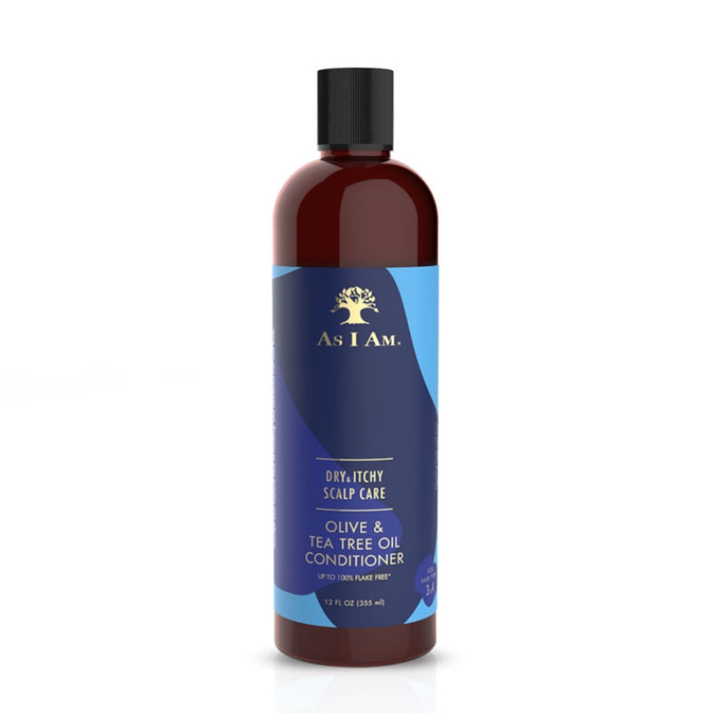 (AS I AM) DRY & ITCHY SCALP CARE OLIVE & TEA TREE CONDITIONER
