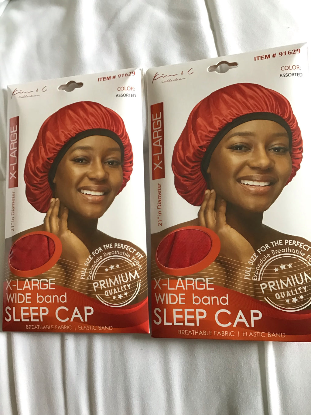 X-LARGE WIDE BAND SLEEP CAP #91629