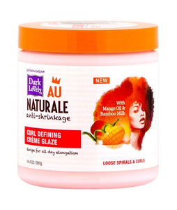 DARK & LOVELY AU NATURALE ANTI-SHRINKAGE CURL DEFINING CREME GLAZE