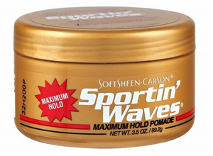 SOFTSHEEN CARSON SPORTIN WAVES MAXIMUM HOLD POMADE