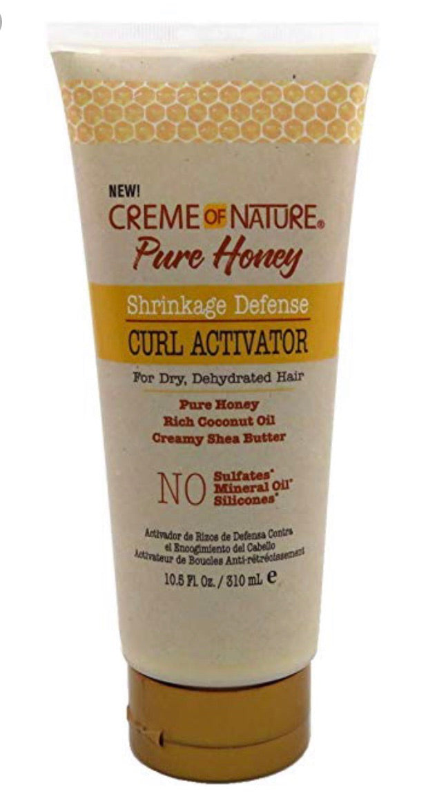 CREME OF NATURE PURE HONEY SHRINKAGE DEFENSE CURL ACTIVATOR