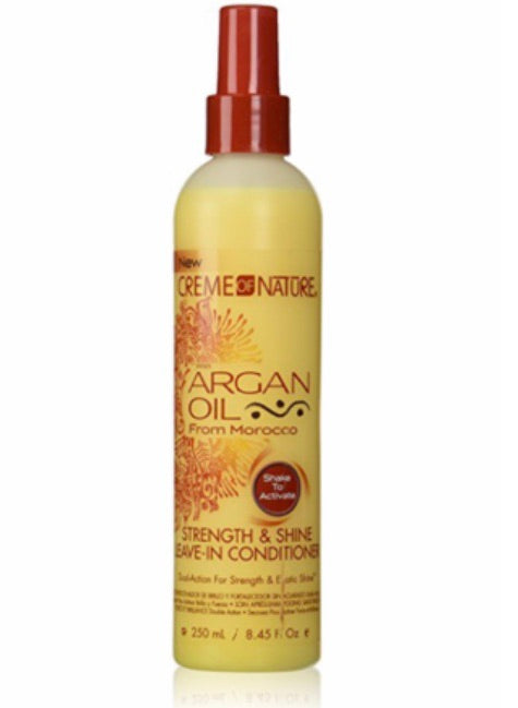 CREME OF NATURE STRENGTH AND SHINE LEAVE-IN CONDITIONER