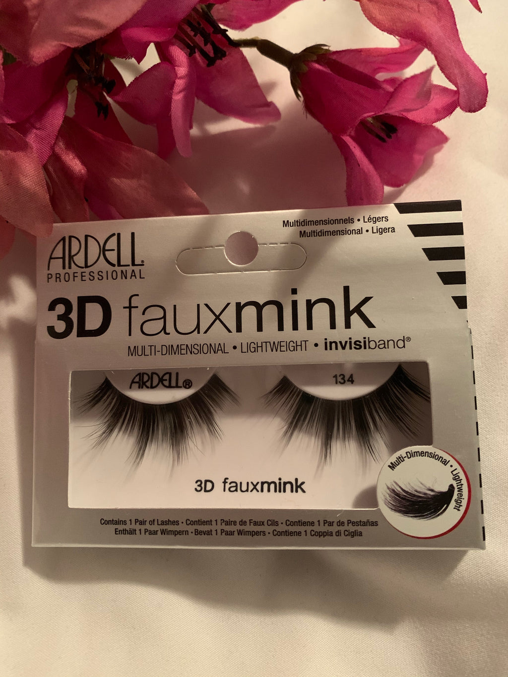 ARDELL 3D FAUX MINK LASHES #134