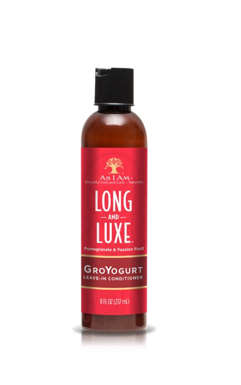 LONG AND LUXE GroYOGURT LEAVE IN CONDITIONER