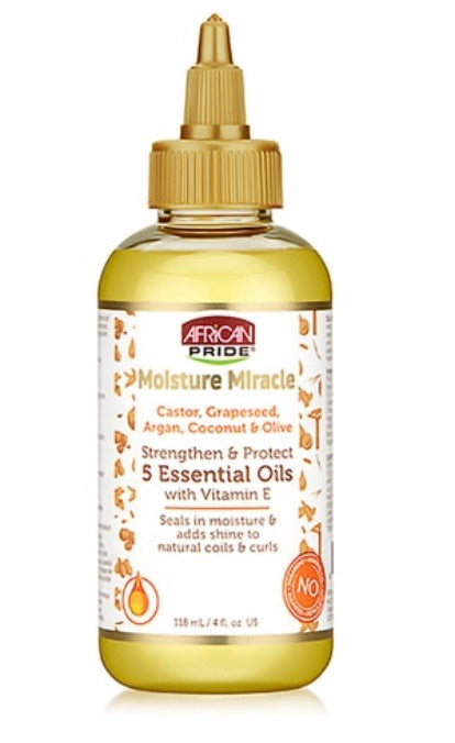 MOISTURE MIRACLE STRENGTHEN AND PROTECT 5 ESSENTIAL OILS