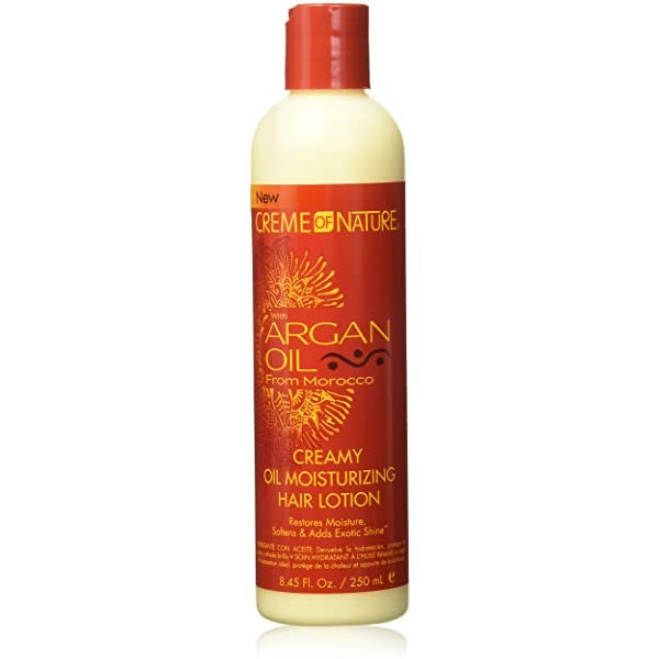CREME OF NATURE ARGAN OIL CREAMY OIL MOISTURIZING HAIR LOTION