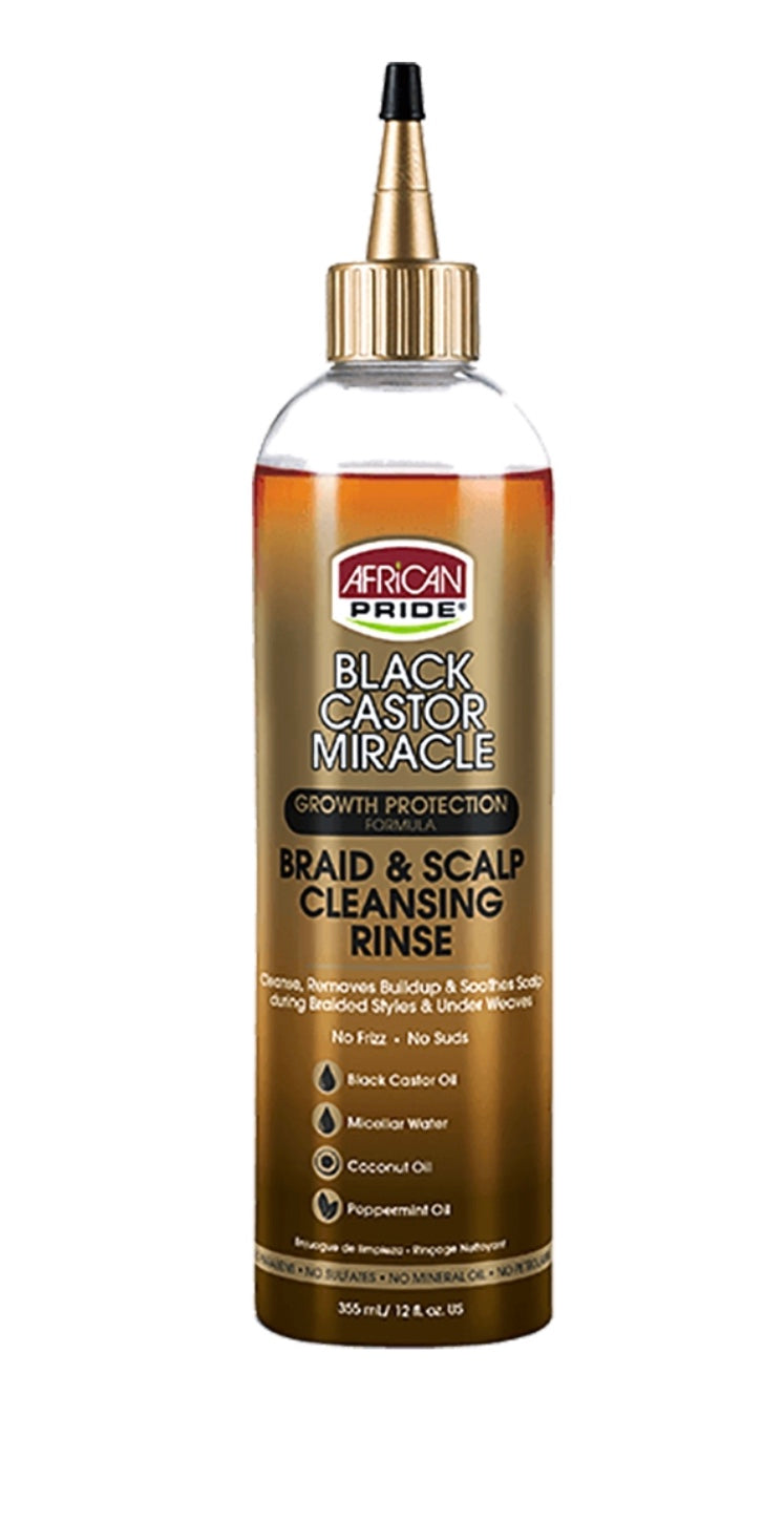 BRAID AND SCALP CLEANSING RINSE