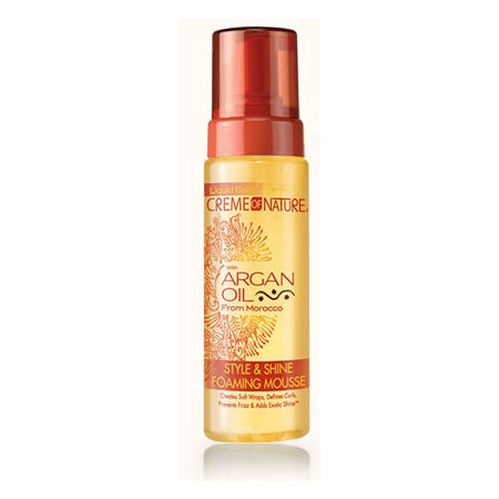 CREME OF NATURE ARGAN OIL FOAMING MOUSSE