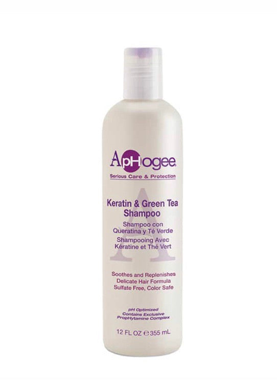 KERATIN AND GREEN TEA SHAMPOO