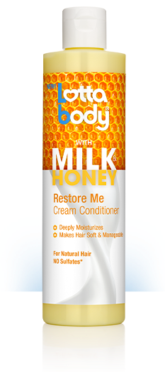 LOTTABODY MILK & HONEY RESTORE ME CREAM CONDITIONER