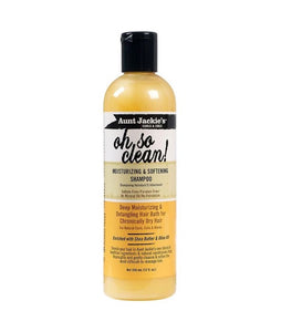 AUNT JACKIE'S OH SO CLEAN MOISTURIZING & SOFTENING SHAMPOO