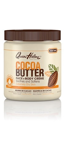 QUEEN HELENE COCOA BUTTER FACE & BODY CREAM