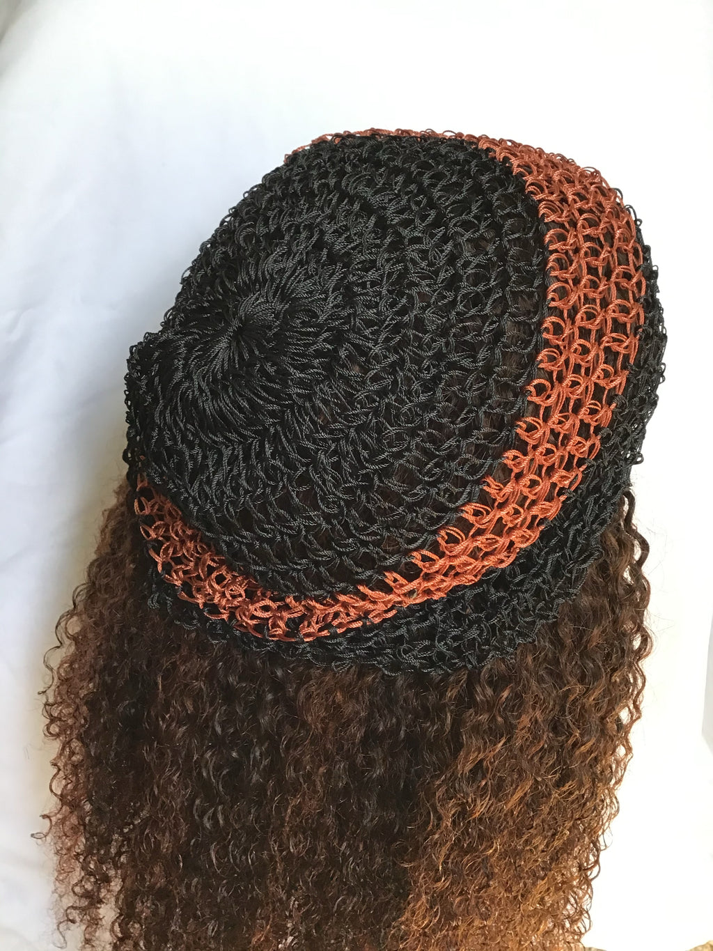 HAND-WOVEN NYLON HAIR (AFRICAN HAIRNET)