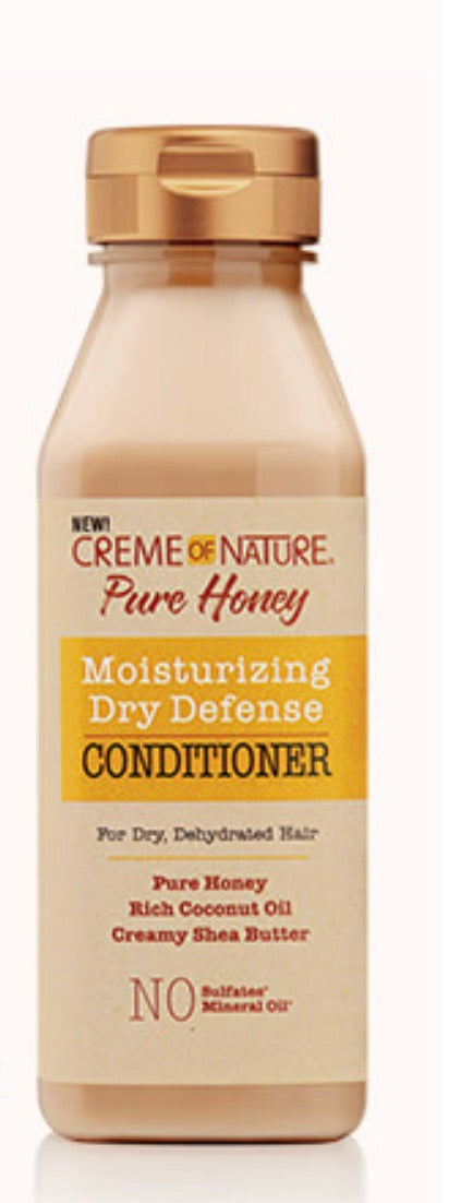 CREME OF NATURE PURE HONEY MOISTURIZING DRY DEFENSE CONDITIONER
