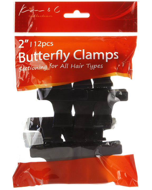 KIM & C (2-INCH) BUTTERFLY CLAMPS