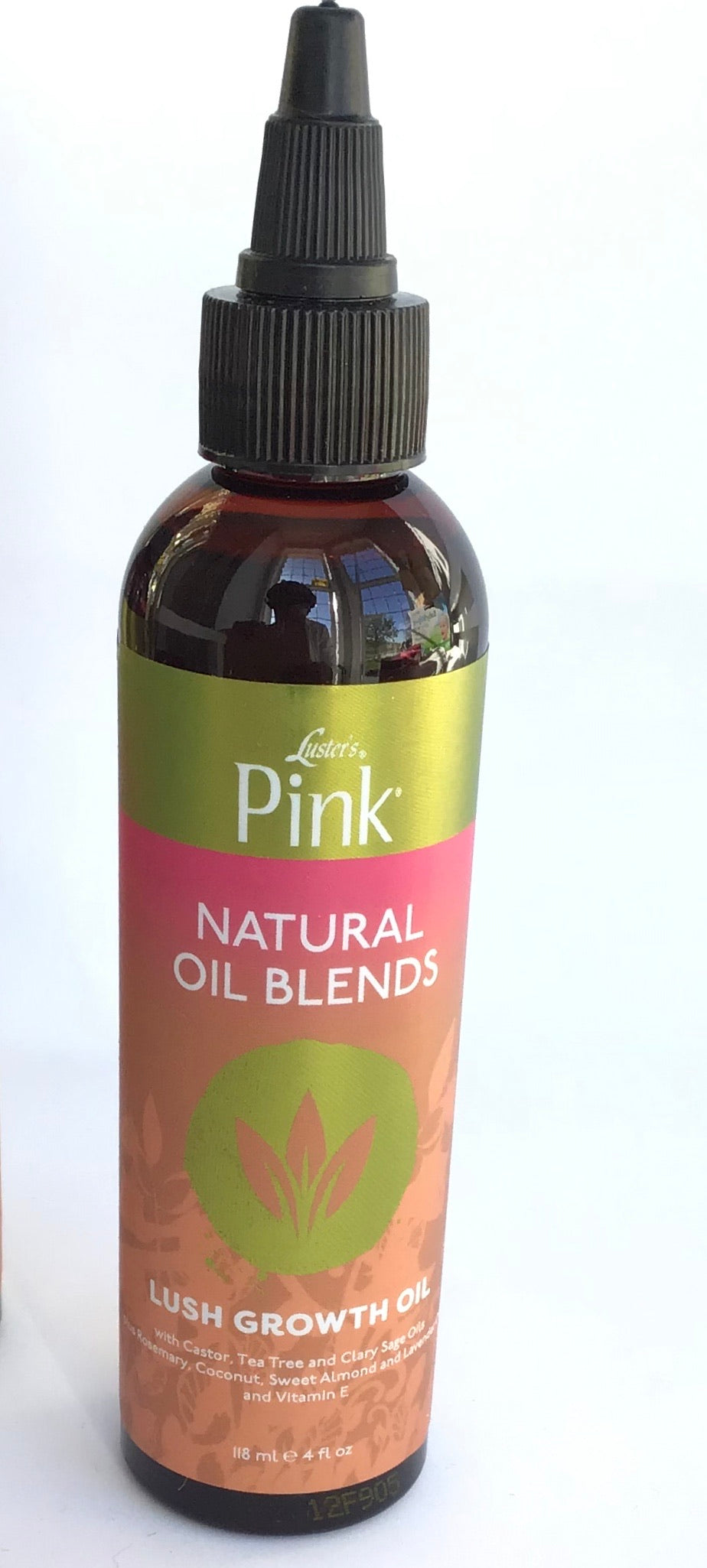 LUSTER'S PINK NATURAL OIL BLENDS LUSH GROWTH OIL