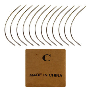 CURVED JUMBO WEAVING NEEDLE