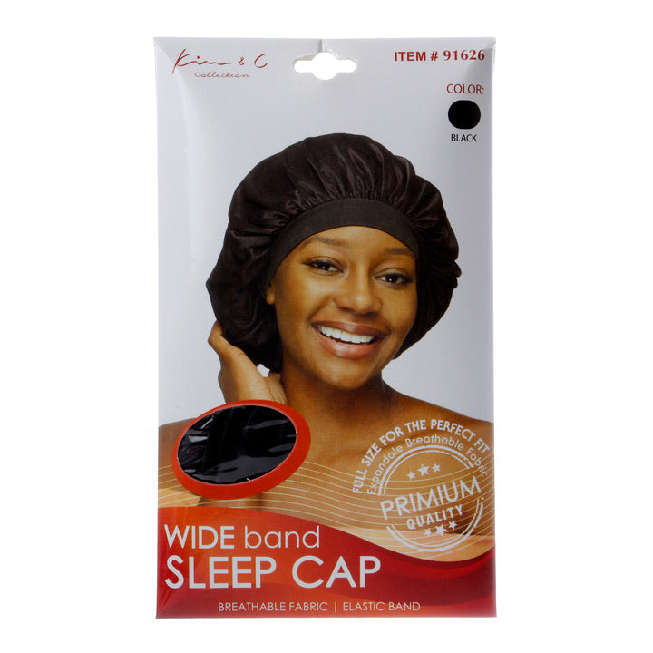 KIM&C LARGE WIDE BAND SLEEP CAP #91627
