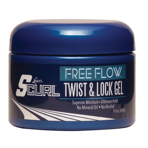 S CURL FREE FLOW TWIST & LOCK GEL