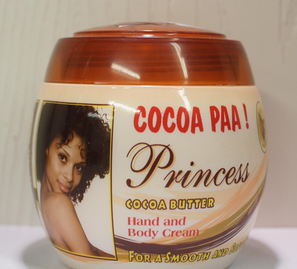 COCOA PAA! PRINCESS COCOA BUTTER HAND AND BODY CREAM