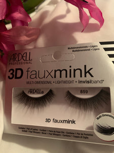 ARDELL 3D FAUX MINK LASHES #859