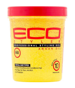 ECO STYLE PROFESSIONAL STYLING GEL (ARGAN OIL MAX HOLD)