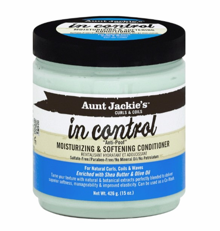"AUNT JACKIE'S IN CONTROL ""ANTI POOF"" MOISTURIZING & SOFTENING CONDITIONER"