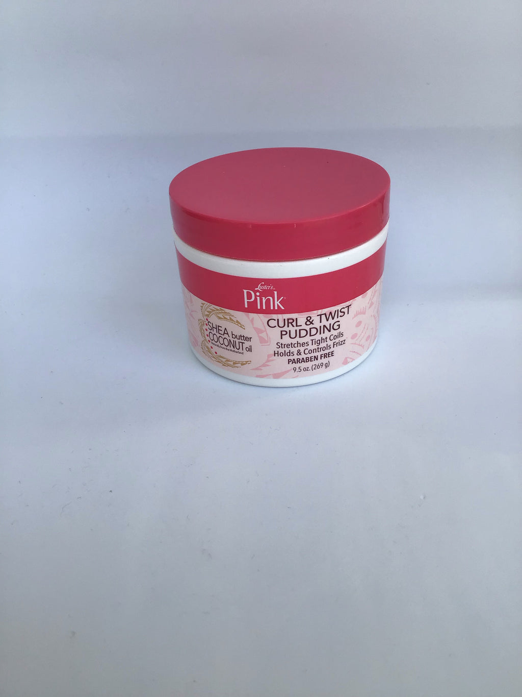 LUSTER'S PINK SHEA BUTTER COCONUT OIL CURL & TWIST PUDDING