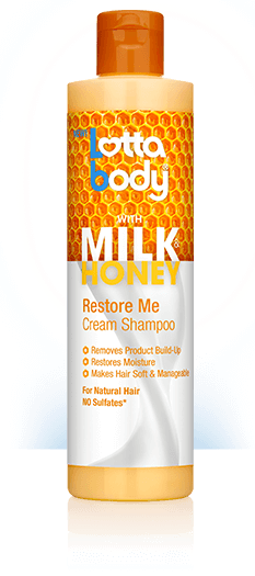 LOTTA BODY MILK & HONEY RESTORE ME CREAM SHAMPOO