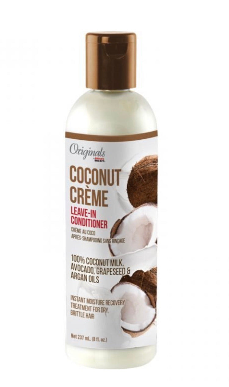 COCONUT CREME LEAVE-IN CONDITIONER
