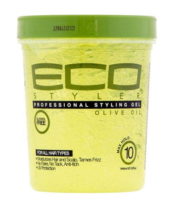 ECO STYLE PROFESSIONAL STYLING GEL (OLIVE OIL MAX HOLD)