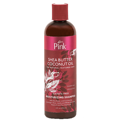 LUSTER'S PINK SHEA BUTTER COCONUT OIL SULPHATE-FREE MOISTURIZING SHAMPOO