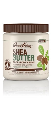 QUEEN HELENE SHEA BUTTER FACE & BODY CREME