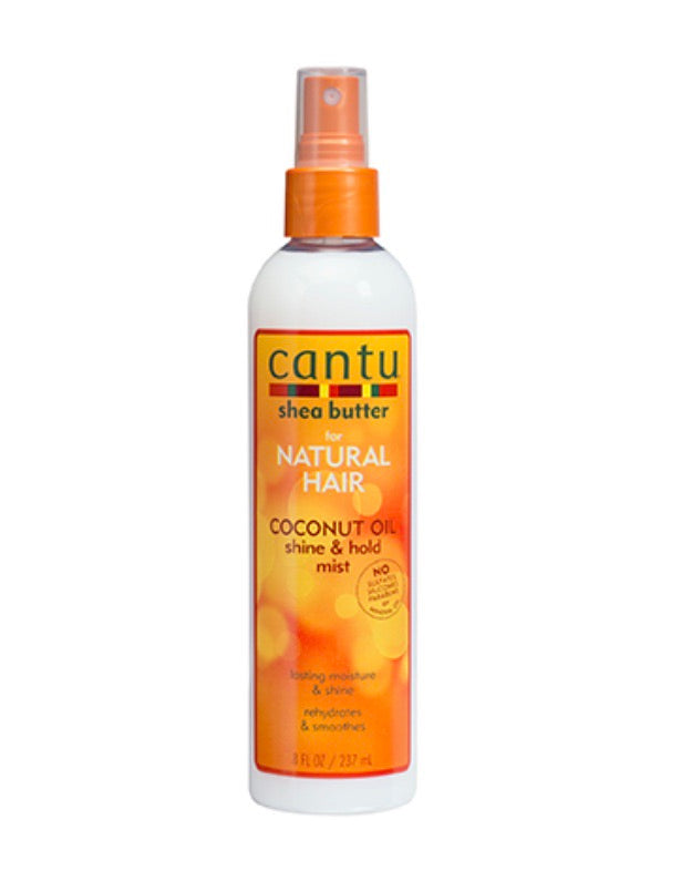 CANTU NATURAL HAIR COCONUT MILK SHINE AND HOLD MIST