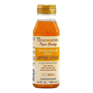 CREME OF NATURE PURE HONEY TEXTURIZING CURL SETTING LOTION