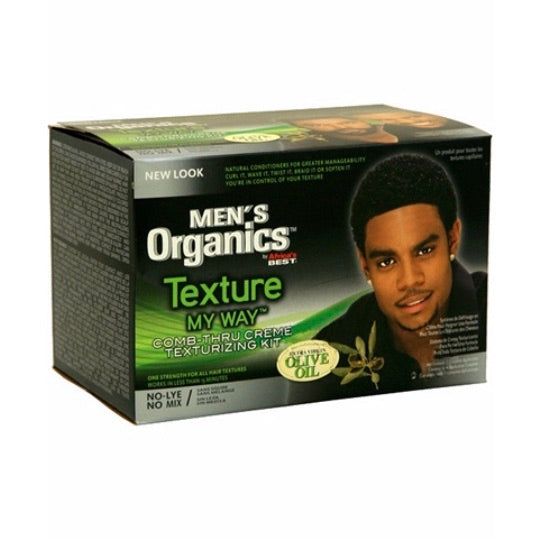 MEN'S ORGANICS TEXTURE MY WAY KIT