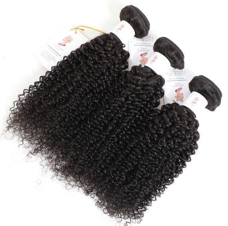 COURONNE BRAZILIAN KINKY CURLY HUMAN HAIR