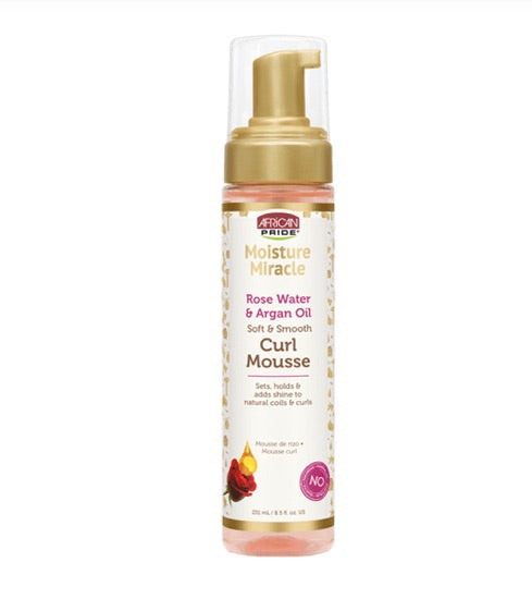 AFRICAN PRIDE MOISTURE MIRACLE CURL MOUSSE