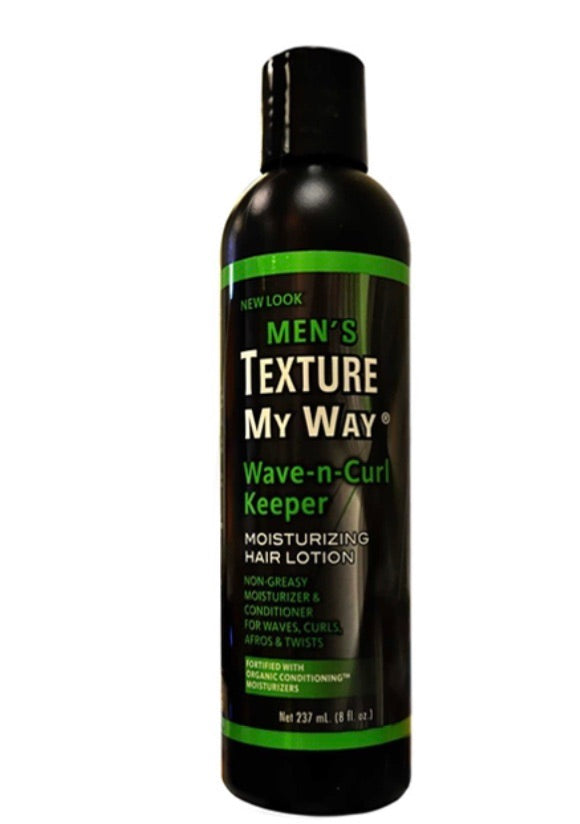 MEN'S ORGANICS WAVE-N-CURL KEEPER LOTION