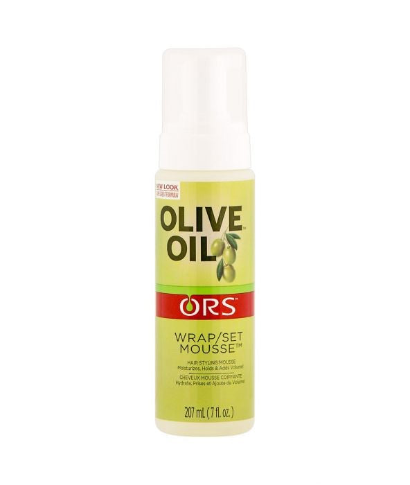 ORS OLIVE OIL WRAP AND SET MOUSSE