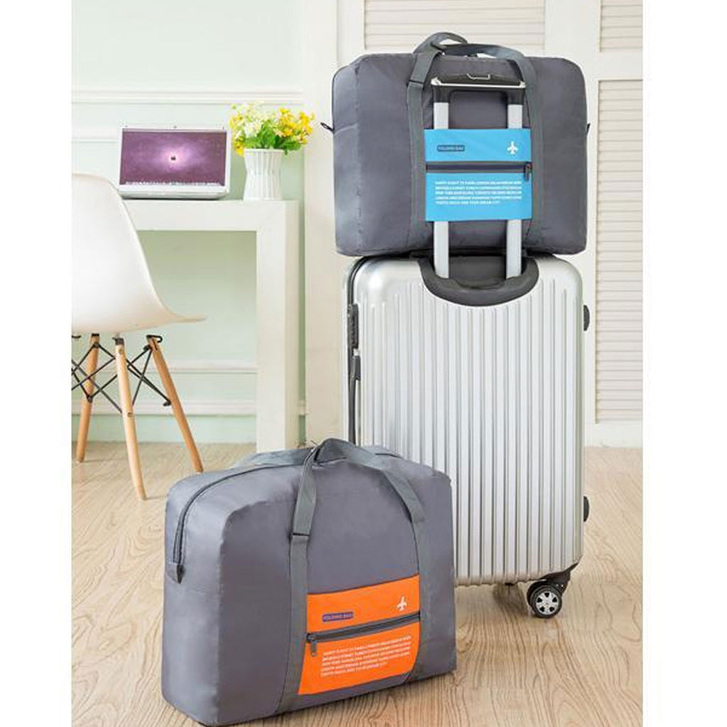 3953ffbc5a Waterproof Foldable Super Lightweight Travel Carry-On Luggage Bag. Hover to  zoom