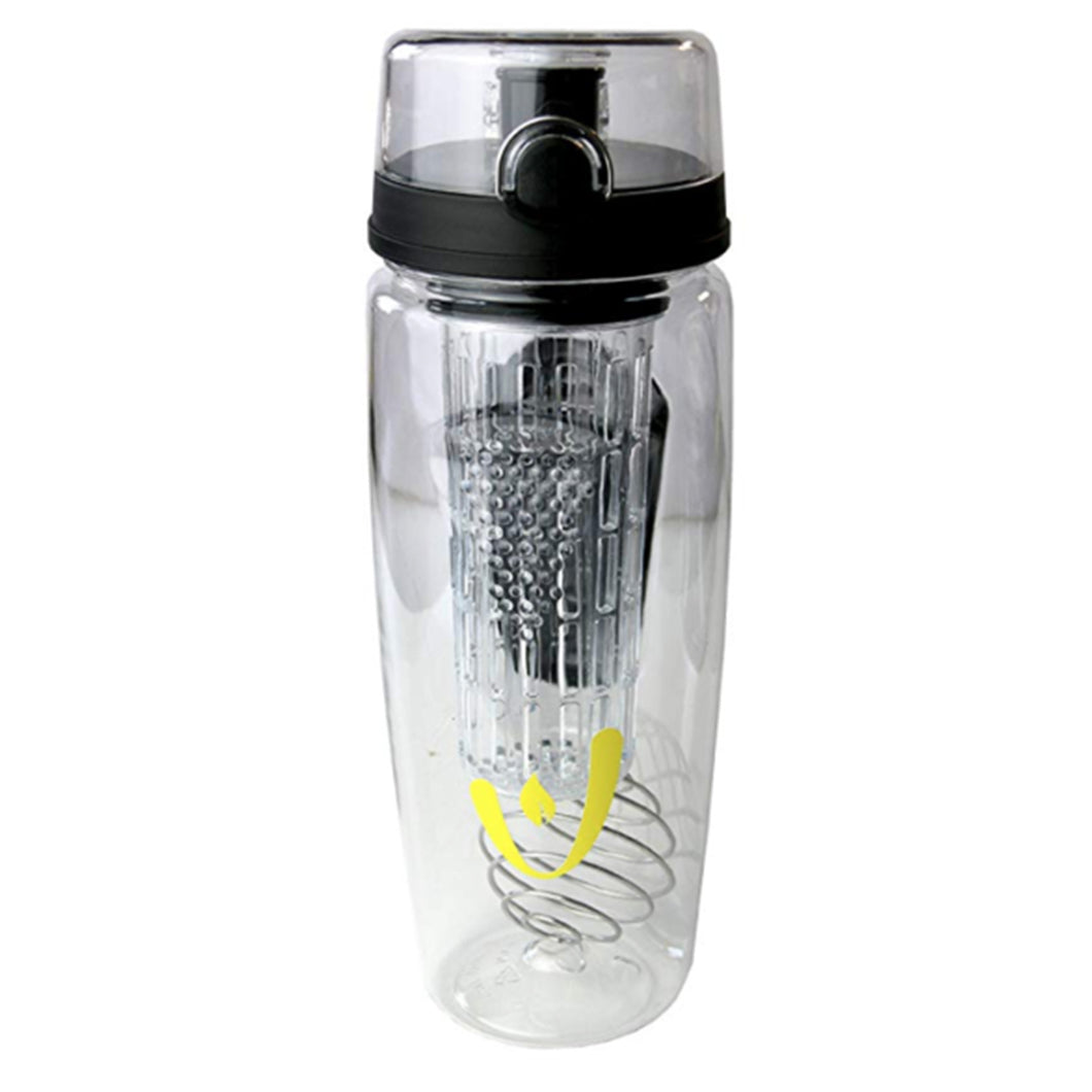 3 in 1 Fruit Infuser and Protein Shaker Water Bottle