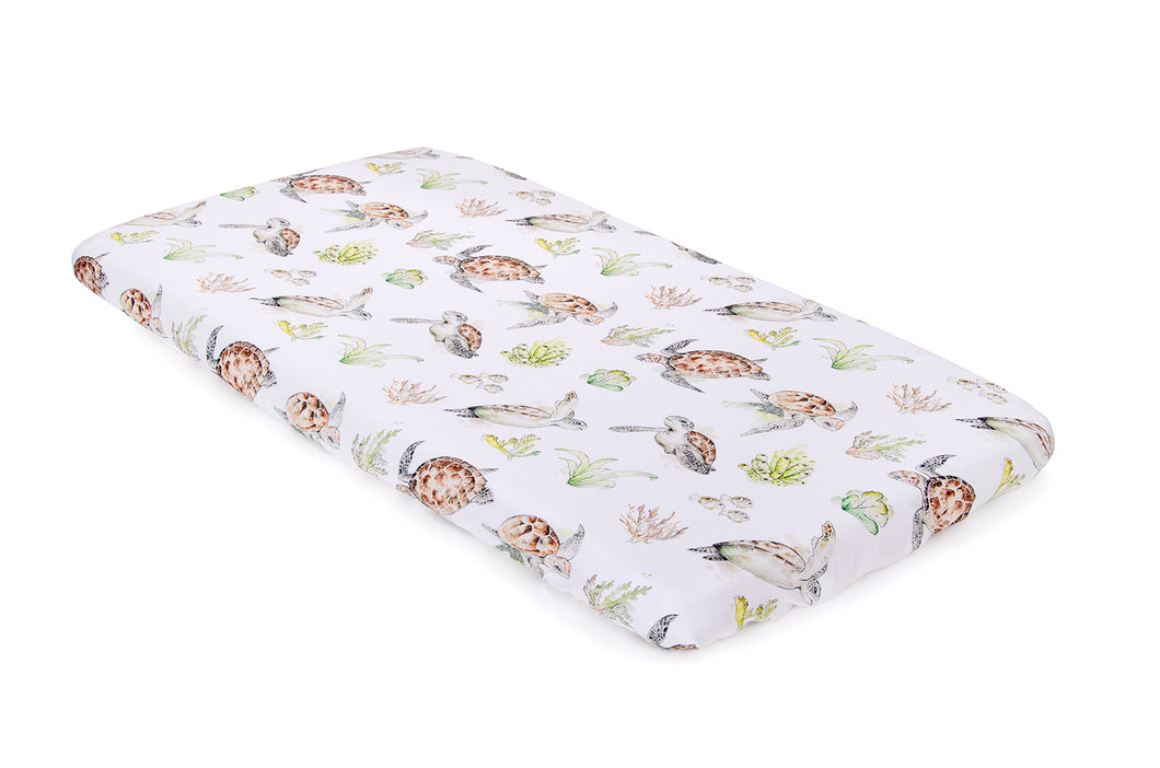 Drap-housse Pacific Turtle 140x70 cm