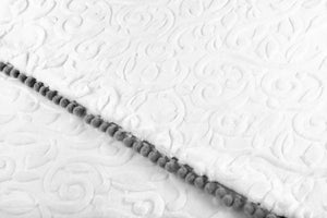 Couverture Royale Blanc